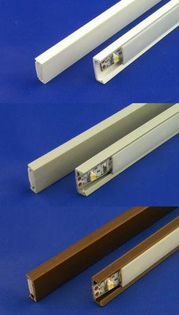 Profil do taśm LED PCV SLIM 1 m