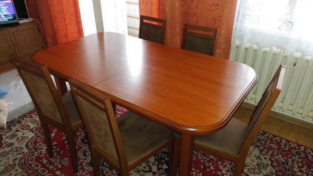 Stół + 5 krzeseł