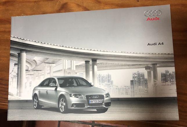 Catálogo Audi A4 B8 Novo