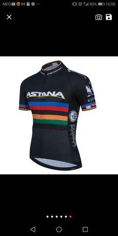 Vendo equipamento ciclismo Astana