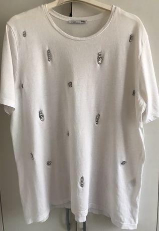 Bluzka Zara kamienie