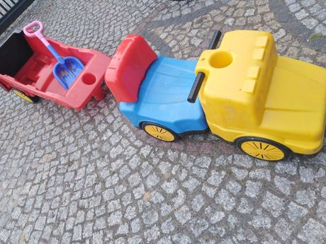 Samochód z przyczepką, pchacz, pojazd do 100kg