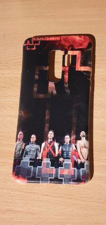 Silikomowy case Rammstein na Samsung Galaxy S9 plus, nowe