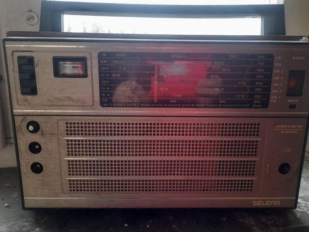 Radio selena b-216 zabytek