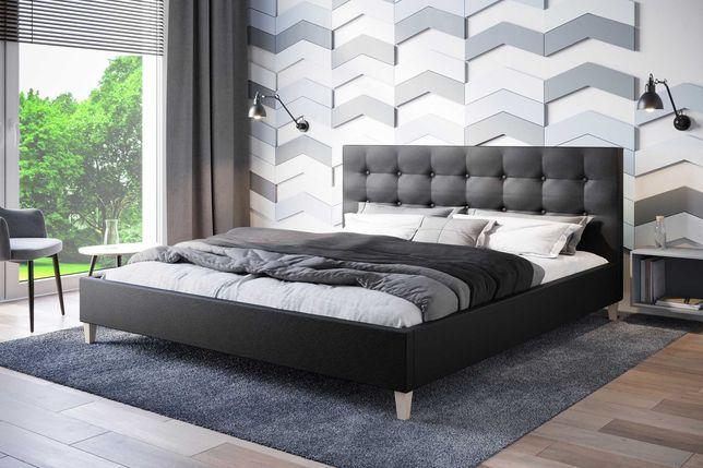 Łóżko tapicerowane Endo MA1100  180 materac stelaż