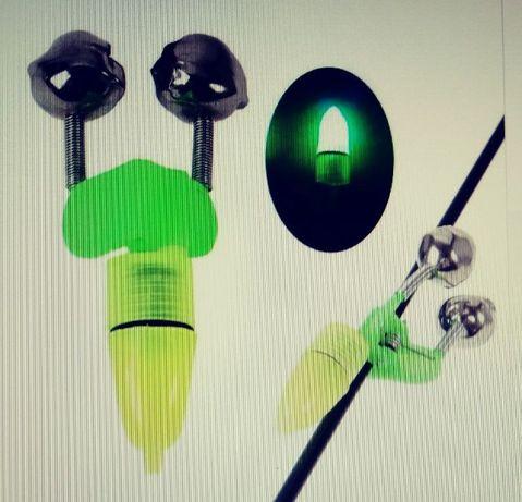 Wskaźnik brań - dzwoneczki + LED