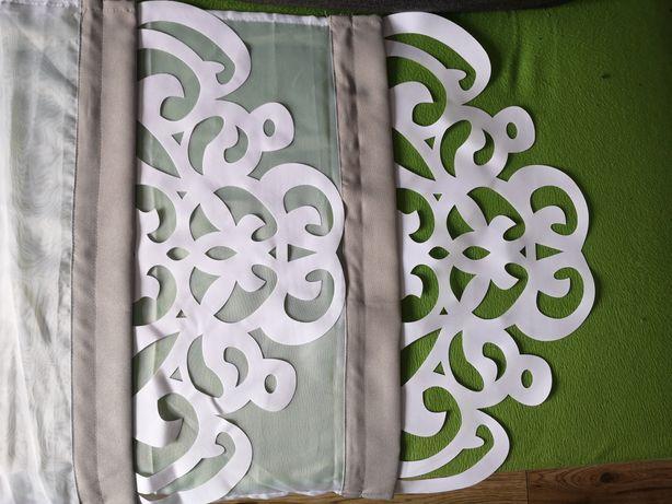 Panel firana z ażurem sz. 60 cm dł. 160 oraz 140 cm