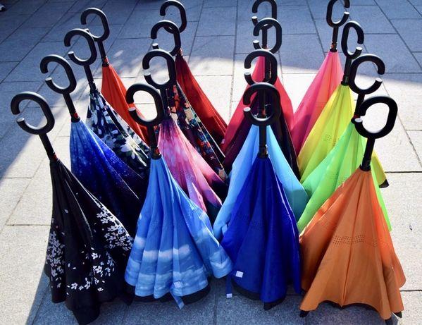 Зонт-наоборот Умный зонт Umbrella, парасолька , зонтик
