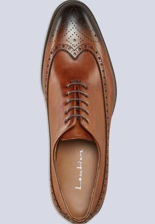 Klasyczne buty skorzane Lantier typu oxford