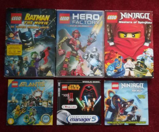 6 DVD Lego Hero Factory Ninjago Batman