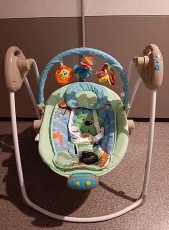 Hustawka / bujak  elektryczna dla dziecka