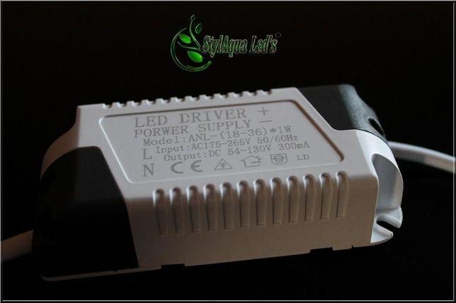 Zasilacz LED DRIVER 8-50W 300mA DIY