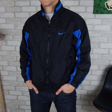 Винтажная куртка, ветровка Nike, новая, M-L