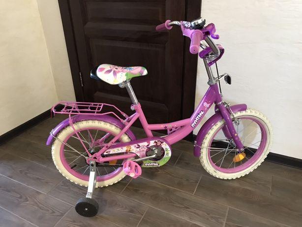 Велосипед Лунтик 16 дюймов детский