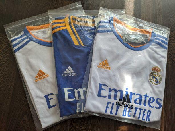 Koszulka piłkarska Real Madryt 21/22 nowa okazja