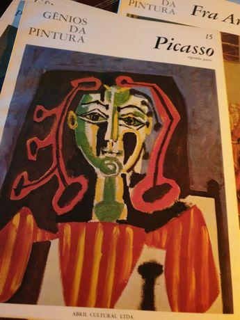Livros sobre pintores