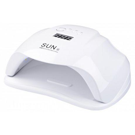 LED UV лед уф лампа SUN X 54вт для наращивания ногтей, гель лак Белая