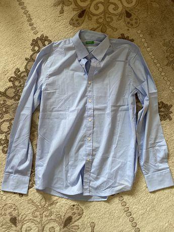 Koszula Benetton niebieska