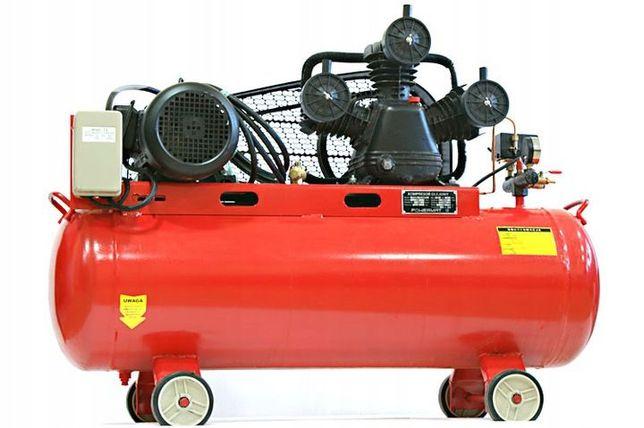 Kompresor sprężarka 200L 3T 8bar 1125L/MIN + GRAT