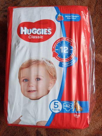 Подгузники Huggies Classic 5 ,11-25 кг, 42 шт