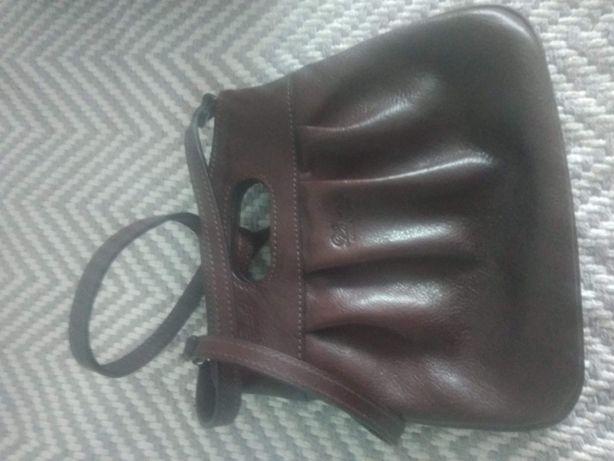 skórzana torebka do ręki lub na ramię nieużywana