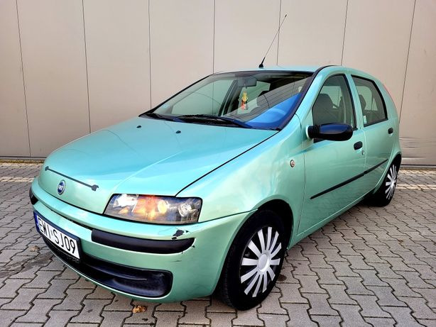 Fiat Punto II 1.2 8v ** Śliczne ** Bez rdzy ** Elektryka ** City **