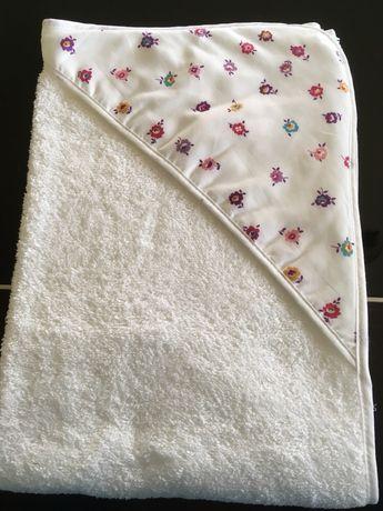 Toalha banho flores