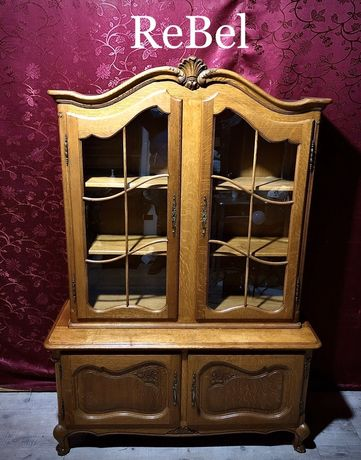 Ms - WITRYNA Biblioteczka Ludwik XV Dębowa!!!