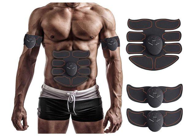 Stymulator mięśni 3 w 1 ems smart fitness , trening stymulacyjny