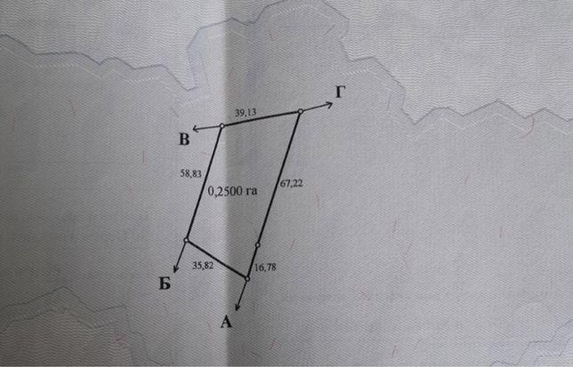 Продам земельну ділянку в с.Ковалин(25 соток)