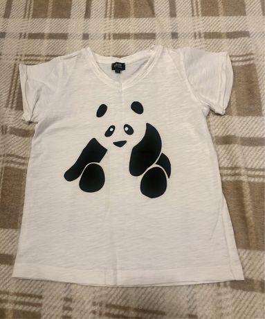 Футболка панда. 110 cm