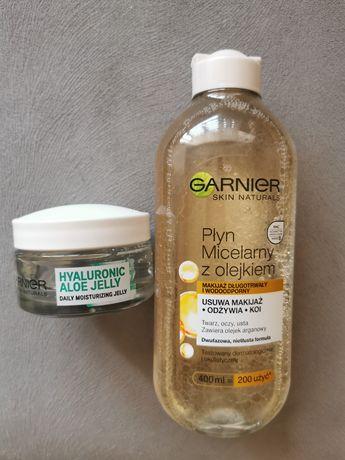 Zestaw Garnier płyn micelarny i żel