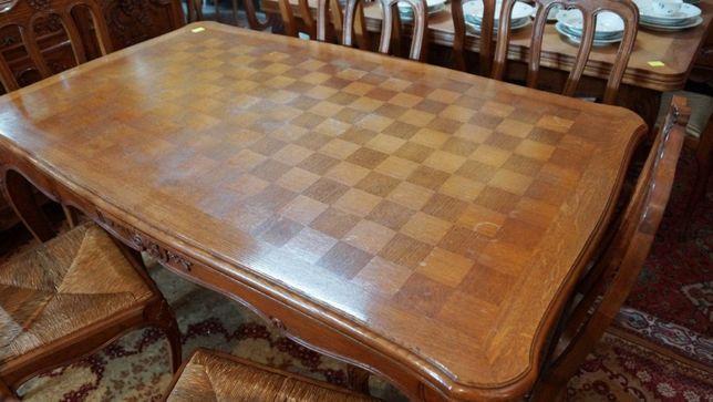 Stół rozkładany + 6 krzeseł | Antyki Stylowy Węgrów