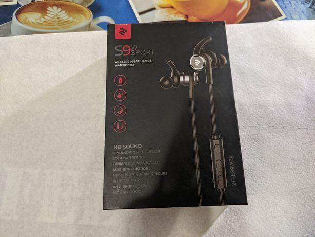 Навушники з мікрофоном 2E S9 WiSport In Ear Waterproof Wireless