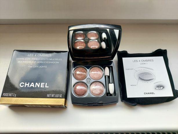 Cienie Chanel Les 4 Ombres 286 City Lights paleta limitowana