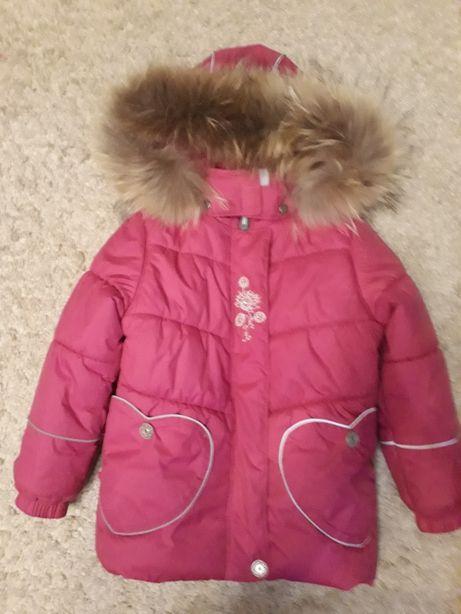 Комплект куртка, комбинезон Lenne с натуральным мехом