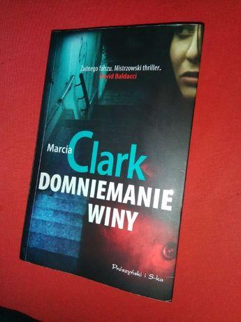 Książka thriller kryminał powieść Domniemanie winy Marcia Clark