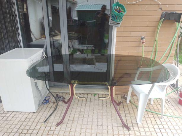Mesa Vidro tamanho grande - 35€