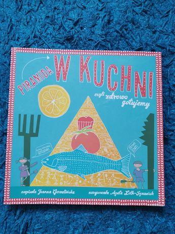 Piramida w kuchni - książka z przepisami na zdrowe posiłki