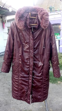 Продам куртку на женьщину зима.