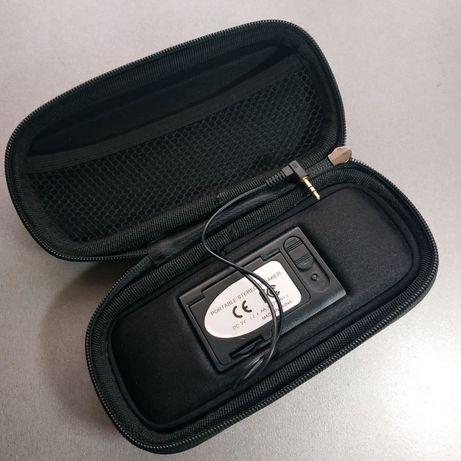 Колонка портативная проводная Reellex 3,5мм audio jack
