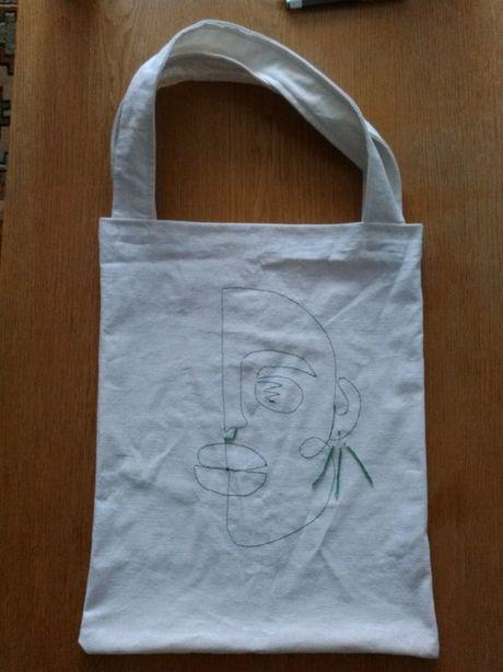 torpa shopper tote bag bawelniana eko torba