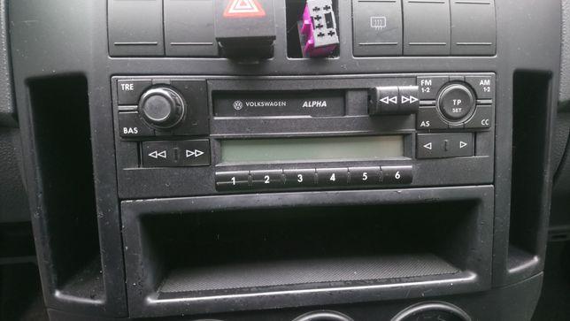 Radio Alpha Vw Golf IV 4 Bora polo 9n tanio wysylka