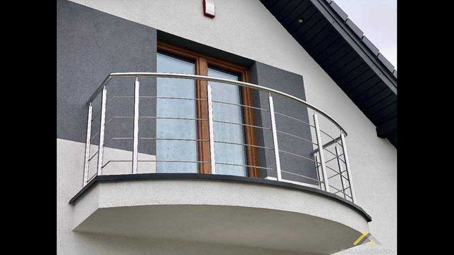 Balustrady ze stali nierdzewnej na Schody Balkony Francuzy