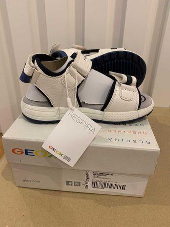 Sandálias Alben Geox NOVAS em caixa - tamanho 28