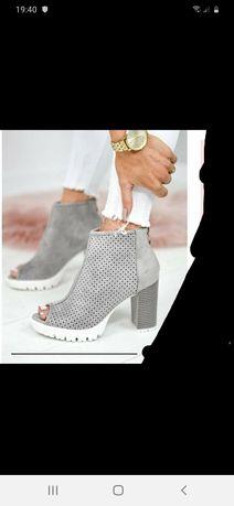 Buty na słupku r38