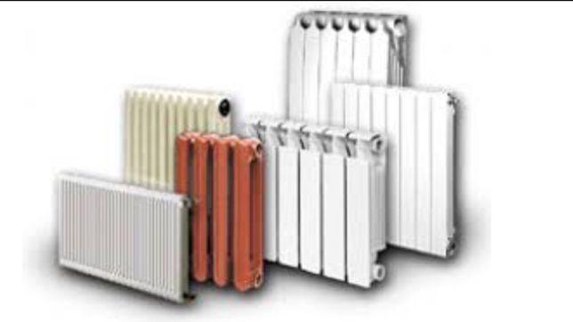 Радиатор стальной алюминиевый высота(200,300,500).Полная комплектация!
