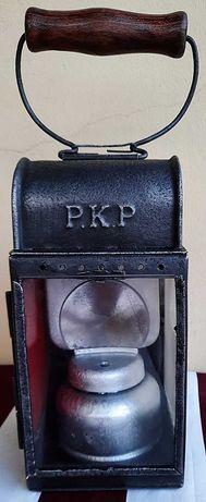 Lampa karbidowa kolejowa PKP