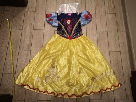 Sukienka królewny Śnieżki królewna Śnieżka Disney roz.5-6lat(110-116cm