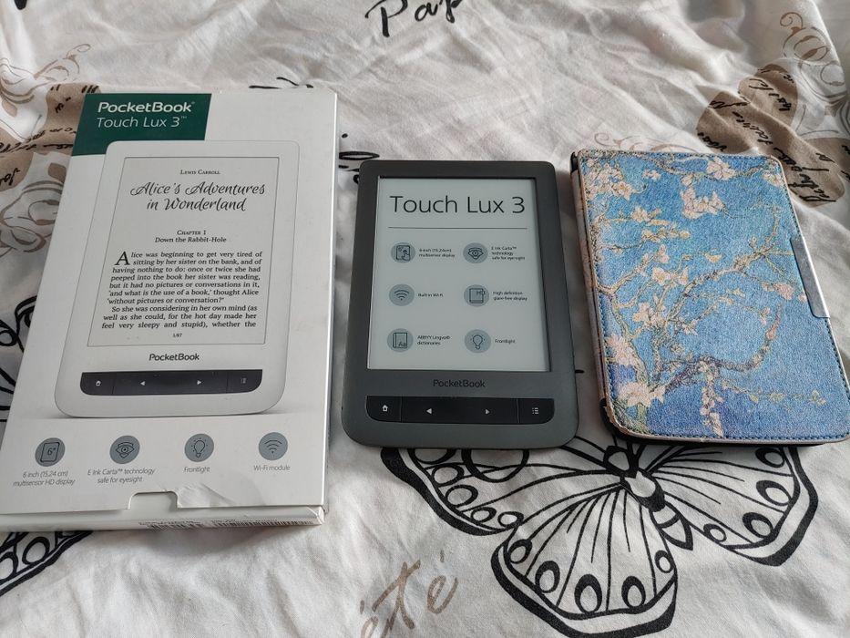 Czytnik e-book pocketbook touch lux 3 626 szary Korczyna - image 1